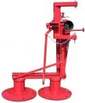 Косилка роторная навесная WIRAX, 1,35 метра, для МТЗ, Т-40