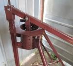 Ручной пресс для изготовления топливных брикетов